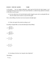Exam 1-2013C (with solutions)