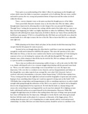 Draft copy of Essay for Swing Low A Life