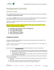 SITHKOP001 Assignment Activity  (Autosaved).pdf