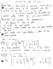 MECH 411 Vector Equations Notes