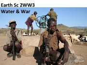 ES 2WW3 - Lecture 8 - Water and War - A2L edited