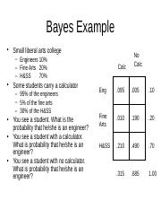 Bayes Example.ppt