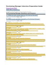 Purchasing Manager Interview Preparation Guide.docx