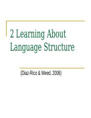 2_Learning_About_Language_Structure