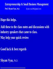 Bus 227 Some Student Support Slides Feb 2017 emailing class