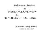 FINAL Fundamental & Legal principle of Insurance 19012016