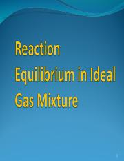 Reaction Equilibrium in Ideal Gas Mixture.ppt