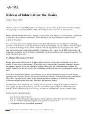Release of Information- the Basics.pdf