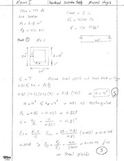 Exam 1 Fall 2011 Solution on Reinforced Concrete Design