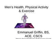 Men's Health _ Physical Activity
