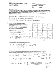 Test 3 Solutions(06)
