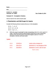 CHEM171-Fall2014-HW2 solutions