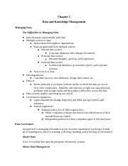 Chapter 5 Data and Knowledge Management.docx