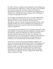 Spanish-Falklands Essay