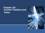 Income taxation and value