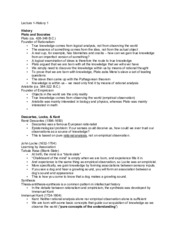 PSC 100Y-Lecture 1 (History 1) Notes