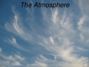 Atmosphere ch 17