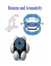 11. Benzene and Aromaticity