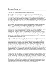 Case 2 - Thermo-Chem Inc