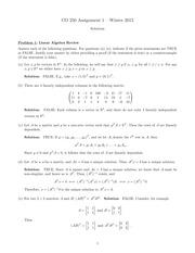 CVXHW  solution pdf   Convex Optimization  Spring      Homework       Course Hero