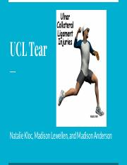 UCL Tear Project
