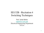 132B_1_Recitation4_Switching_Techniques