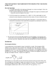 Chem& 162 Experiment 2 (Beer's Law) updated.docx