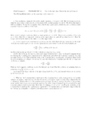 Stokes equation problems