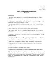 Jannach's German for Reading Knowledge: Kapitel 22 Solutions