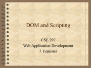 08 - DOM and Scripting
