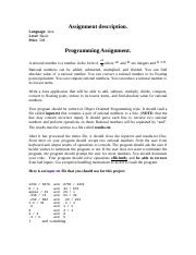Java assignment 2.doc