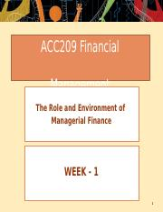 Week  01- The Role and Environment of Managerial Finance.pptx