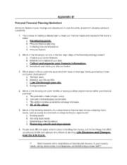 appendix b personal financial planning worksheet Appendix b - project worksheet and supplemental forms  position added to  ensure the planning function is addressed until further ics implementation has   repair efforts, and often in dealing with damage to their homes and personal  property  collecting cost data from the applicant's financial person.