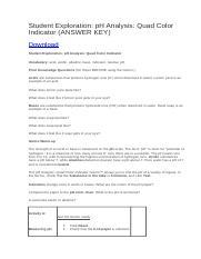 Student Exploration- pH Analysis (ANSWER KEY).docx ...