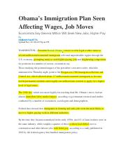 Obama's Immigration Plan Seen Affecting Wages.docx