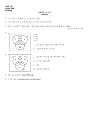 Finite Lab 5 Solutions