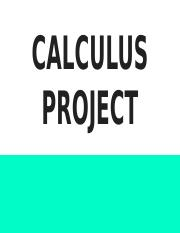 Calculus Project.pptx