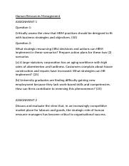 Example literature review on strategic human resource management     BAEducation  amp  Human Resource Management