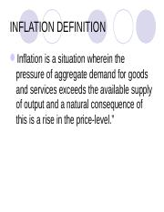 INFLATION 1.ppt