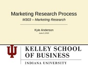 Marketing Research Lecture Slides