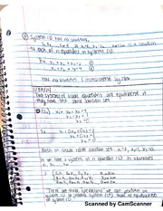 2 Linear Equation Notes