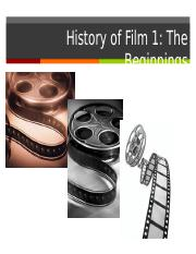 3. History of Film 1.ppt