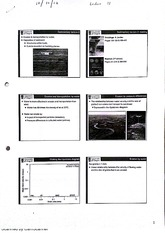 Sedimentary Erosion and Transportation by Water Lecture Notes 8