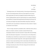 Technology Influencing Society Essay.docx