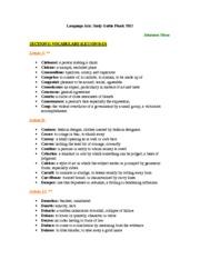 english 9 final exam study guide language arts study guide finals rh coursehero com english 9 final exam study guide pdf Matching Final Exam Study Guide