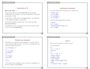 Notes 2 - Introduction to R