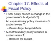 ECN_203__17_Fiscal Policy