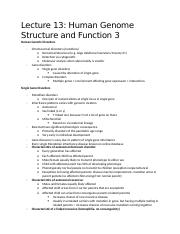 Lecture 13-Human Genome Structure and Function 3.docx