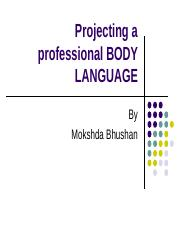 44d90LESSON 6- Projecting a professional body language(I).ppt
