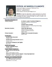 cma 031 araullo page 1 course